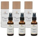 bedrop | 3x Propolis Tinktur ohne Alkohol als Spray, Mundspray (alkoholfrei & wasserlöslich) - 30ml im 3er Set Spar-Vorteilsset