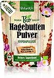 Bio Hagebuttenpulver 1kg Für die normale Muskel- & Knochenfunktion. Reich an natürlichen Vit. C, E, A & Ca, Mg, 100% Superfood, BotaniKils - Laborgeprüft, vegan, glutenfrei