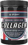 KetoMeals Collagen Protein Pulver - Keto Diät konformes Weide-Kollagen Eiweißpulver mit 18 Aminosäuren-Komplex, hochdosiert, ohne Zusatzstoffe, 60 Portionen plus Messlöffel, 360g