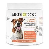 MEDIDOG Gelenkschmiere Premium Gelenkpulver für Hunde und Katzen, Klinisch Geprüft aus 100% Bioaktive Kollagen Hydrolysat, Nährstoffe für Gelenke, Sehnen, Bänder, Haut, Fell