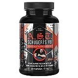 A.S.T. SCHUBERTS V8 I 120 Koffein Kapseln I CROSSVITAL I vegan I Koffein I Taurin I Inositol I Guarana I 8 Vitamine I made in Germany