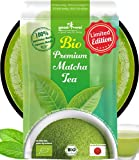 Matcha Pulver Tee Bio - Original Japanischer Matcha - Limited Edition (100g)