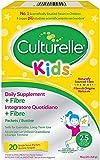 Culturelle ® Kids Probiotische Ergänzung für Kinder mit Natuerlichen Balaststoffen | 20 Sachets | 2,5 Milliarden lebende Bakterienkulturen + Ballaststoffe | Lactobacillus Rhamnosus GG | Vegan
