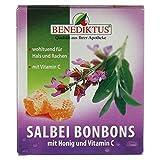 SALBEI BONBONS mit Honig + Vitamin C, 50 g