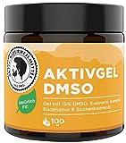 AKTIV NATURHEILMITTEL AktivGel DMSO Creme/Salbe 100ml mit 15% DMSO & Wärmeeffekt   99,9% Reinheit, Hochwertig und 100% echt aus Deutschland