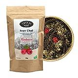 Ivan Chai - Himbeere   Entspannungstee   Fermentierter Weidenröschen Tee Lose   Premium Qualität  Wild & Handverarbeitet