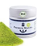Premium Bio Matcha aus Japan, Ceremonial Grade, Pestizidfrei, Matcha-Pulver extrafein in der 3x30 g Dose, mild intensive Grünteenote, geeignet für Matcha Latte, Smoothie, Zeremonielle Qualität
