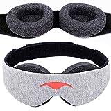 Manta Sleep Maske – 100% Verdunkelung Augenmaske – kein Augendruck – verstellbare Augenmuscheln – garantiert tiefste Erholung – perfekte Schlafmaske für leichten Schlaf, Reisende, Mittagsschlafer