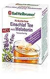 Bad Heilbrunner Einschlaf Tee mit Melatonin im Stick, Tassenfertig, 8er Pack (8 x 10 Sticks)