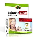 SUNLIFE Laktasetabletten 6.000 FCC im Klickspender: bei Lactoseintoleranz, praktisch für unterwegs, 100 Stk.