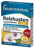Klosterfrau Reizhusten Lutschtabletten Orange | Wirksam bei trockenem Reizhusten | 24 Lutschtabletten