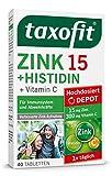 taxofit® Zink 15 + Histidin Depot 40 Tabletten für das Immunsystem und die Abwehrkräfte