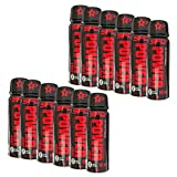 12x SFD Power Shot | 80 ml je Fläschchen (insg. 960ml) | Energie Koffein Konzentration Aufmerksamkeit Ausdauer Taurin Citrullin-Malat Ausdauer | Nahrungsergänzungsmittel (12er Pack)
