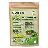 SVATV Brahmi Pulver (Bacopa Monnieri) 1/2 lb, 08 oz, 227 g USDA zertifiziert