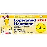 Loperamid akut Heumann Tabletten, 10 St. Tabletten