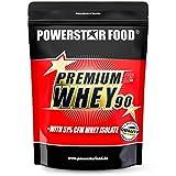 PREMIUM WHEY 90 | 90% Protein i.Tr. | 51% CFM Whey Isolat | Protein aus Weidenmilch | Nur 1% Kohlenhydrate | Ideal für Muskelaufbau & Abnehmen | 850g | Banana