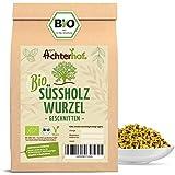 Süßholzwurzel Tee BIO (250g) | Süßholzwurzeltee | Süßholz-Wurzel getrocknet geschnitten enthält Lakritz