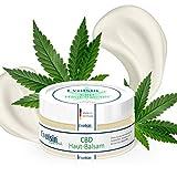 NEU: Evolsin natural CBD Hautbalsam I 100% Bio I 125mg CBD I Hanf Creme gegen Akne, Pickel, Neurodermitis, Psoriasis, Schuppenflechte u.v.m I mit Kokosöl, Bienenwachs, Arganöl, Shea Butter