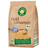 CLASEN BIO Goldleinsamen, ungeschält, glutenfrei und vegan - 500 g