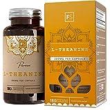 FS L-Theanin 300mg Vegane Kapseln Ohne Füllstoffe und Bindemittel | 180 L Theanine Nootropikium Tabletten Für Konzentration | Allergen Frei | Nicht GVO | Hergestellt in ISO-Zertifizierten Betrieben