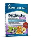 Klosterfrau Salbei Honig Lutschtabletten wirksam bei trockenem Reizhusten, 24 Stück