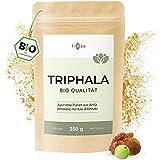 BIO Triphala Pulver 250g gemahlen Ayurveda Pulver aus Amalaki (Amla) Haritaki Bibhitaki Trifala Powder in BIO Qualität