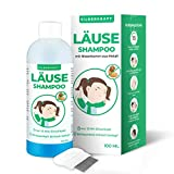 Silberkraft Läuseshampoo 100 ml mit Nissenkamm, zur Behandlung bei Kopfläusen und Nissen, effektives 2-Phasen-Shampoo, schonend für die Kopfhaut, für Kinder ab 1 Jahr (100 ml)