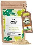 Amla Pulver Bio aus Indien - (900 g) - Reich an Vitamin C - Immun Boost hochdosiert I AT-BIO-402