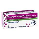 CETIRIZIN HEXAL Tropfen bei Allergien 20 ml