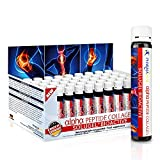 Pharmavital alpha Peptide Collagen, Premium Kollagen, Vitamin C, Selen, Hagebutten Extrakt 50 Trinkfläschchen 10.000mg Kollagenhydrolysat SOLUGEL mit bioaktiven Peptiden