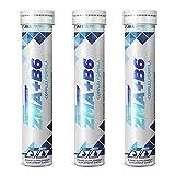 3x ALLNUTRITION ZMA + Vitamin B6 Komplex | 20 Tabletten je Packung (60 Stück insg.) | Magnesium Zink Mineralstoffe Stoffwechsel Regeneration Training | Nahrungsergänzungsmittel (3er Vorteilspack)