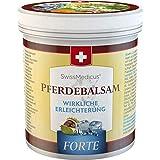 SwissMedicus - Pferdebalsam kühlend extra stark - Pferdesalbe Forte 500 ml - enthält 25 Kräuterextrakte inkl. Beinwell - Rosskastanie - Wacholder - Arnika - Eukalyptus