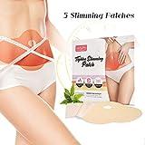 Slim Patch, Luckyfine Schnellen Gewichtsverlust Slim Patch, Starke Wirksamkeit und Sicherheit (5 Pcs)