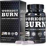Workout Burn, exklusive Formel L-Arginin und L-Citrullin speziell während Workout, 60 vegane Kapseln