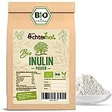 Inulin Pulver BIO 500g   kalorienarmer Ballaststoff aus der Agave   feinkörnig in der Konsistenz und gut wasserlöslich   ideal für Getränke und zum Kochen und Backen verwendbar   vom Achterhof