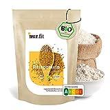 nur.fit by Nurafit BIO Reisprotein-Pulver 500g mit 90 % Proteingehalt – Reiseiweißpulver aus kontrolliert biologischem Anbau - natürliches veganes Proteinpulver ohne Zusatzstoffe – vegan Protein