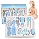 10pcs Babypflege Set, Baby Healthcare Kit,Safety Cutter Baby Nail Kit,Nasensauger Kamm,Babypflegeset für Neugeborene Weihnachten Geschenk,Toddler Health and Grooming