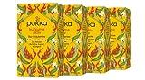 Pukka Bio-Tee Kurkuma Aktiv 80 Teebeutel, 4er Pack (4 x 20 beutel)