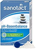 sanotact pH-Basenbalance Pulver • 200g Basenpulver zum Einnehmen • Entsäuerungskur mit Mineralien & Spurelementen • Basenpulver für normalen Säure-Basen-Stoffwechsel