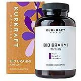 Kurkraft Bio Brahmi - Einführung - (180 Kapseln) - 500mg je Kapsel - Vegan - Ohne Zusatzstoffe - aus deutscher Produktion