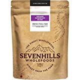 Sevenhills Wholefoods Revitalize Bio-Superfood-Mischung (Blaubeer-pulver, Lucuma-Pulver, Maqui-Beerenpulver, Acai-Beerenpulver, Acerola-Pulver, Baobab-Pulver, Camu-Camu-Pulver, Maca-Pulver) 150g