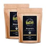 Reisprotein Bio 80% Protein 2kg (2x1kg) - vegane Proteinquelle - ohne Zusätze - Frei von Gluten, Soja und Lactose - Top Bio Qualität - Abgefüllt und kontrolliert in Deutschland (DE-ÖKO-005)
