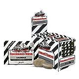 Fisherman's Friend Salmiak   Karton mit 24 Beuteln   Menthol und Salmiak Geschmack   Zuckerfrei für frischen Atem