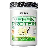 Weider Vegan Protein. Vanille-Geschmack. 100% pflanzliches Erbsenprotein (PISANE) und Reis. Gluten-frei. Laktosefrei. Kein Palmöl. Mit Vitamin B12 (750 g)
