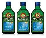 Möller's Omega-3 Lebertran Tutti Frutti (250ml) - 3-Pack