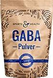 GABA Pulver - Gamma - Aminobuttersäure 500g Pulver - Vegan - 100% Natürlich Ohne Zusatzstoffe – Eigene Produktion- Mit Extra Messlöffel