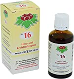 DOSKAR Tropfen Nr.16 - Homöopathische Herz- und Kreislauftropfen, 50 ml