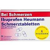 Ibuprofen Heumann Schmerztabletten 400 mg, 30 St. Tabletten