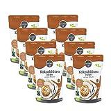 borchers Bio Fairtrade Kokosblütenzucker   8er Set   Vanille Karamell Note   Schonend aufgekocht   8x 275g