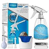 Ohrenschmalz entferner, Ohrenreiniger, Ohr Reinigung 28 in 1 Spritzen Kit,Entfernen von Ohrenschmalz zum Reinigen von Ohren für Erwachsene und Kinder